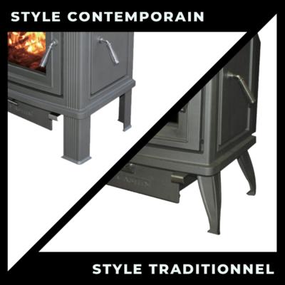 Option Pied Traditionnel Ou Contemporain