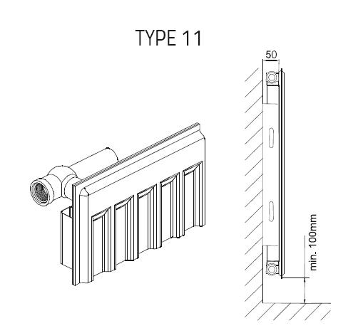 panneau acier modele 11 calid al. Black Bedroom Furniture Sets. Home Design Ideas